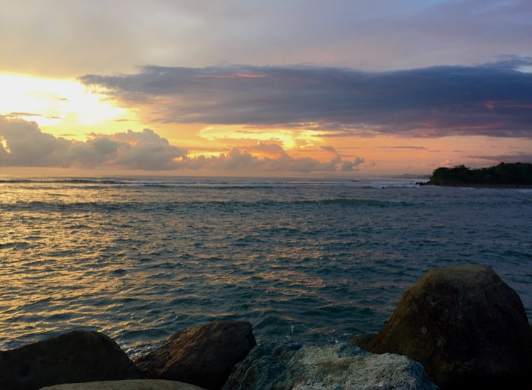 Sunset at Puerto Quepos, can't complain