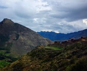 Incan ruins of Pisac