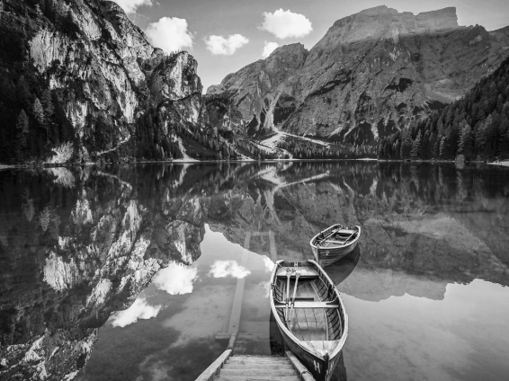 Lago di Braves; Bolzano, Italy