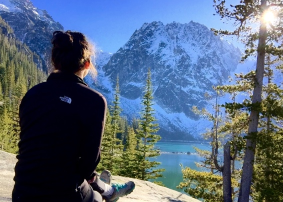 Colchuck Lake, WA (Nov. 8th, 2016)