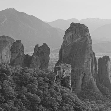 Meteora Monasteries; Greece