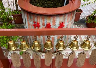 Bells for good luck