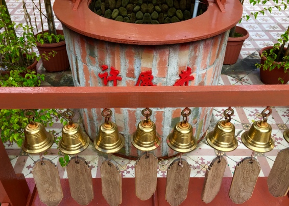 Bells for good luck
