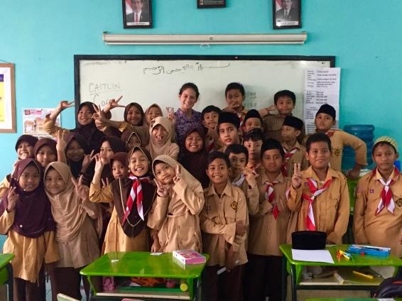 One adorable 4th grade class