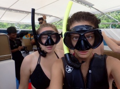 Snorkeling is serious business
