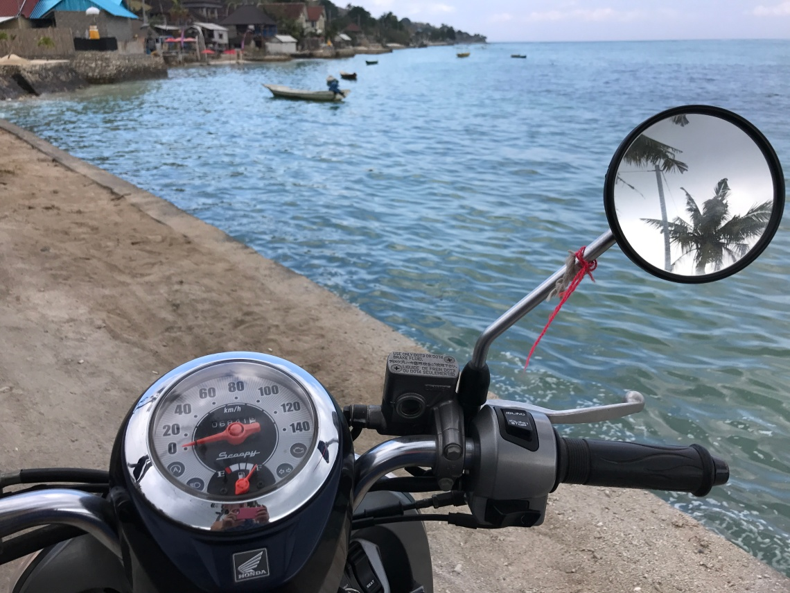 Nusa Lembongan motorbike rides