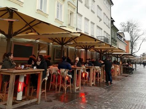 Ljubljana Eating