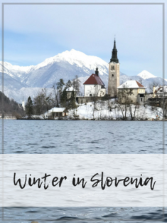 Winter in Slovenia